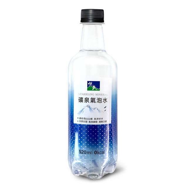 悅氏礦泉氣泡水 520ml/箱購
