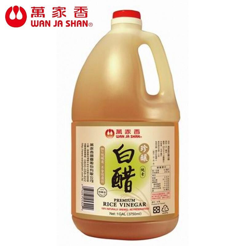 萬家香 珍釀白醋3750ml組合購
