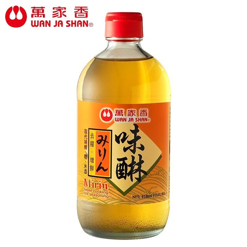 萬家香味醂日本頂級調味料 450ml組合購