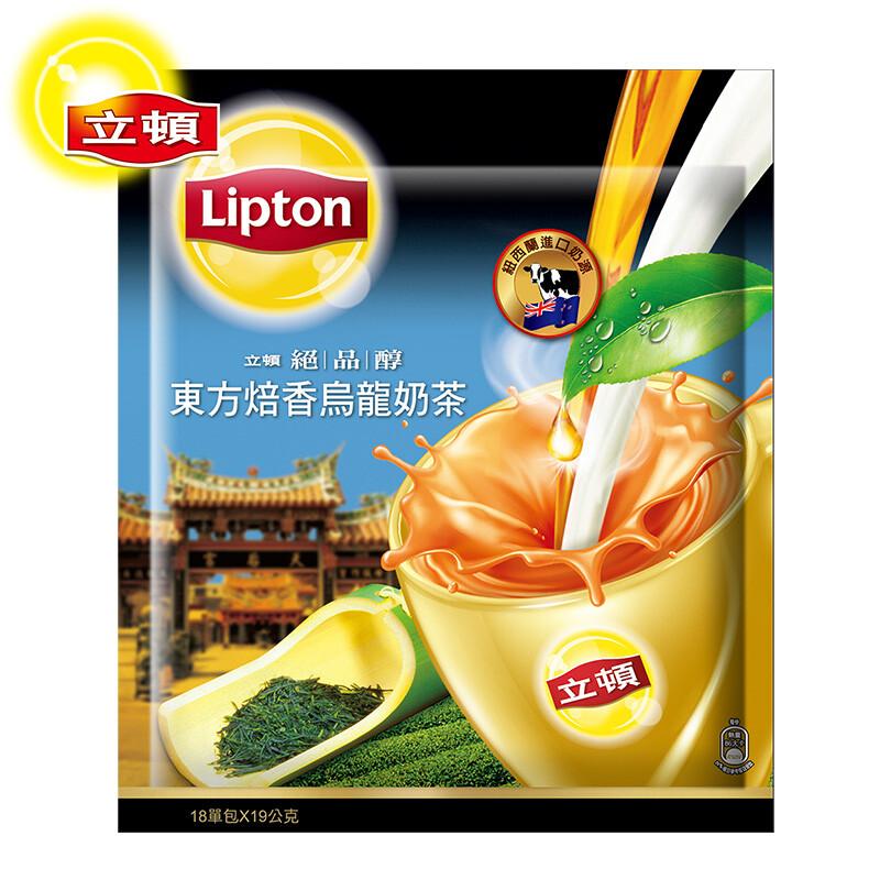 立頓 絕品醇東方焙香烏龍奶茶量販包 19gx18入/包組合購
