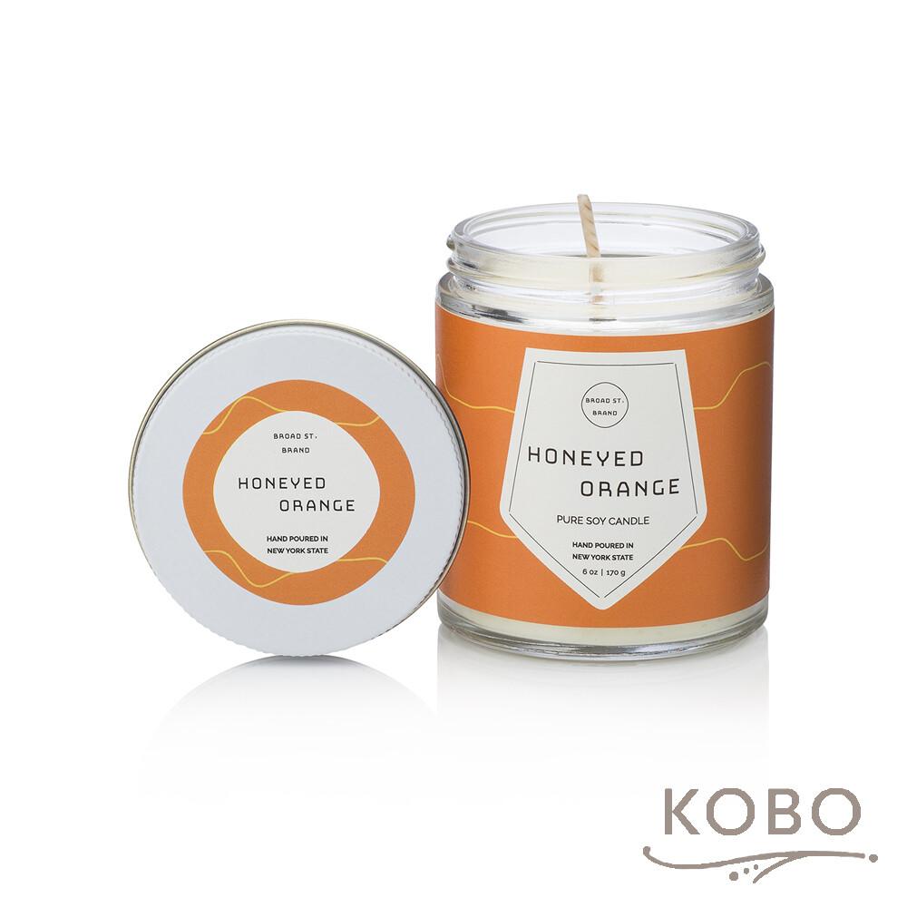 kobo美國大豆精油蠟燭 - 蜜香甜橙 (170g/可燃燒 35hr)