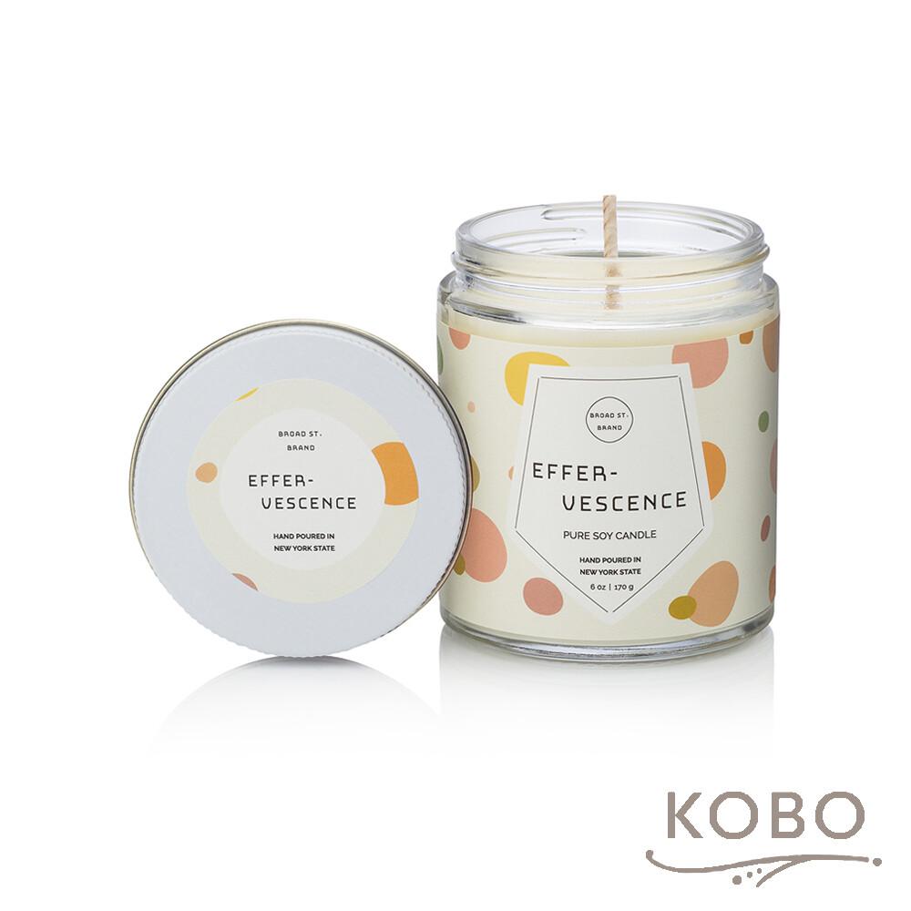 kobo美國大豆精油蠟燭 - 薑芬氣泡 (170g/可燃燒 35hr)