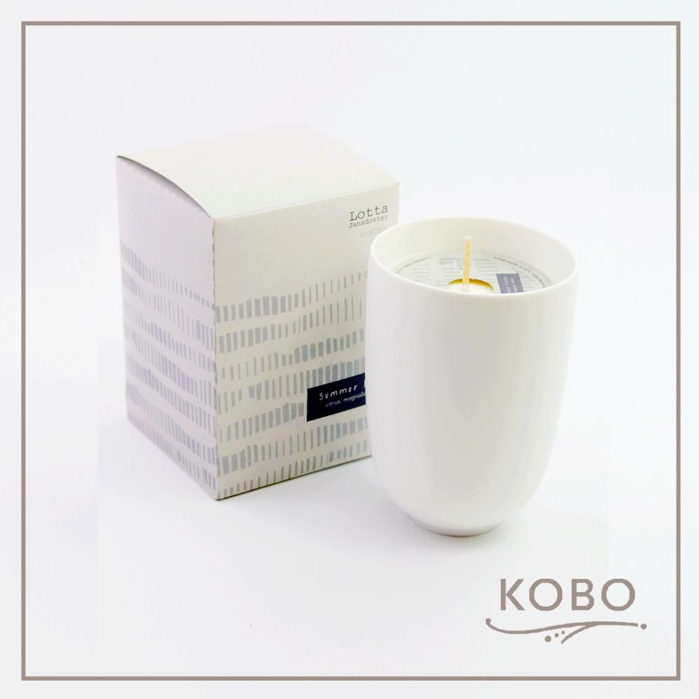 kobo美國大豆精油蠟燭 - 夏日亞麻(330g/可燃燒70hr)