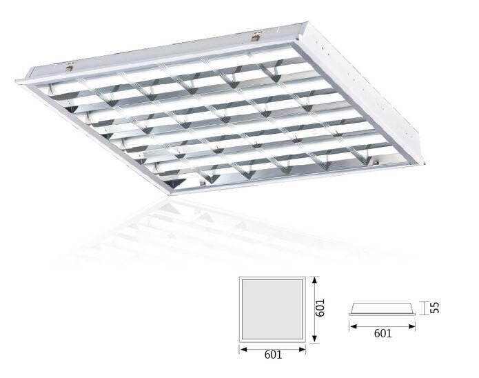 舞光 led 輕鋼架燈 格柵燈-2441r1 含舞光2尺 t8 白光燈管4支