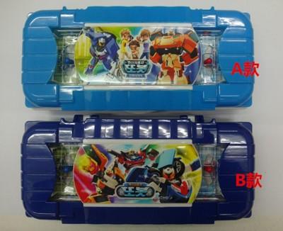 韓國直送 卡通TOBOT機器戰士玩具鉛筆盒 (8折)
