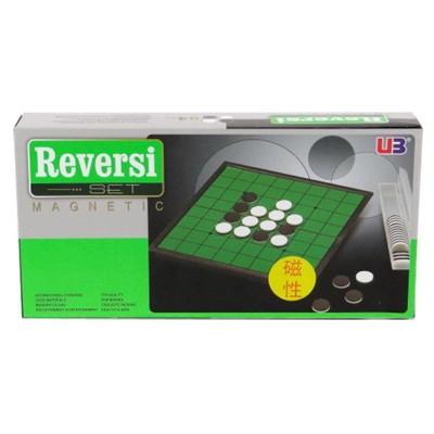 特賣桌遊攜帶磁性黑白棋 翻轉棋 蘋果棋 奧賽羅棋 ubon reversi   大世界 正版桌 (10折)