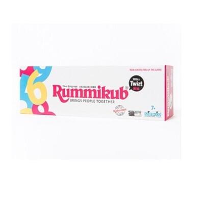 拉密變臉版 柱形盒 繁體中文版 rummikub twist 以色列麻將 大世界桌遊 (10折)