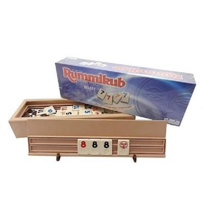 拉密數字牌豪華版 rummikub select 以色列麻將 大世界桌遊 正版桌上遊戲 (10折)