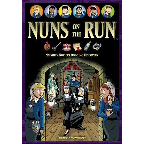 免費送厚套 nuns on the run 落跑修女 大世界桌遊 正版桌遊 含稅附發票