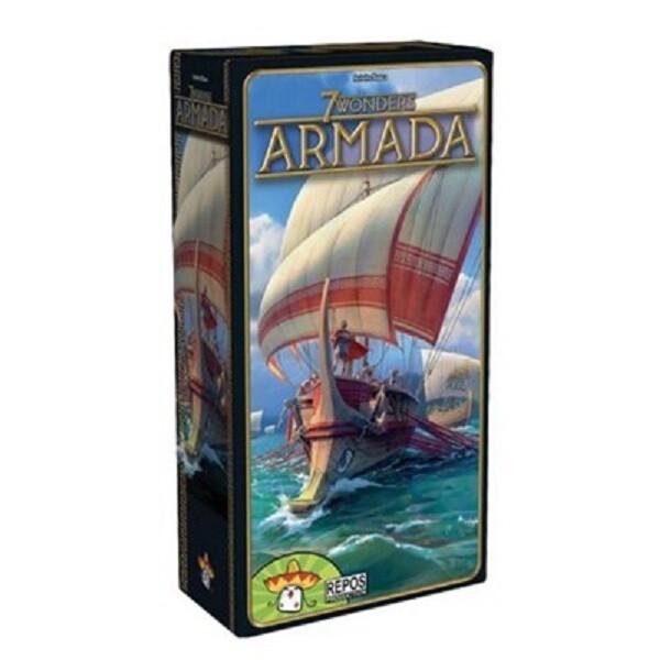 免費送牌套 七大奇蹟 艦隊擴充 7 wonders armada 大世界桌遊 繁體中文 正版桌遊