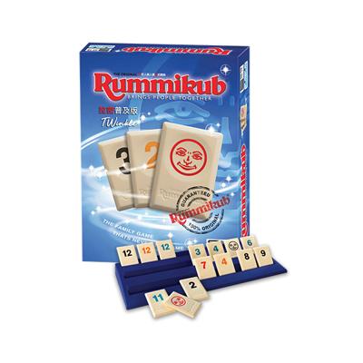 【免費送沙漏】最新 拉密 標準版 普及版 Rummikub Twinkle 繁體中文 大世界桌遊 (10折)
