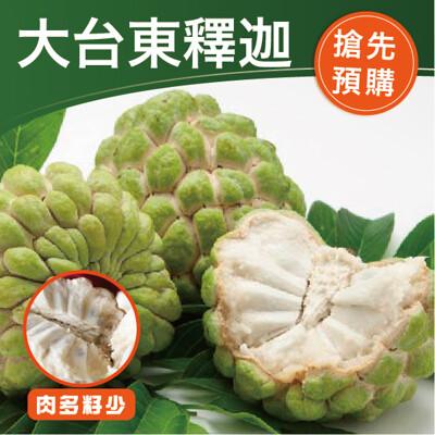 【鮮食優多】鮮甜大台東釋迦5斤(7-9顆)