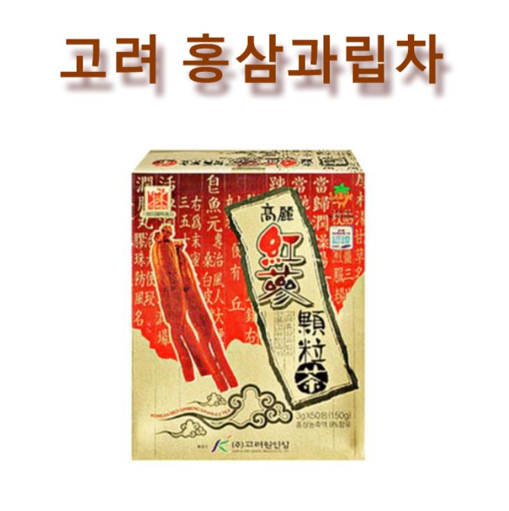 韓國原裝進口高麗園 高麗紅蔘茶包