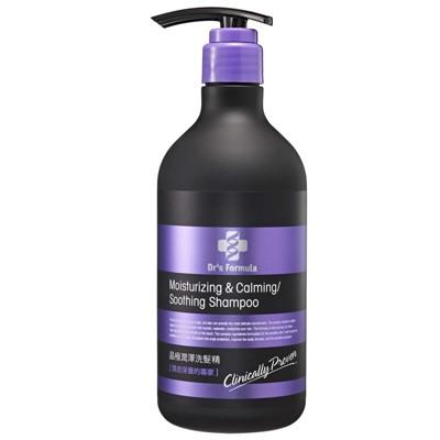 《台塑生醫》Dr's Formula晶極潤澤洗髮精580g~買就送洗沐體驗隨身包12g*10包 (7.9折)