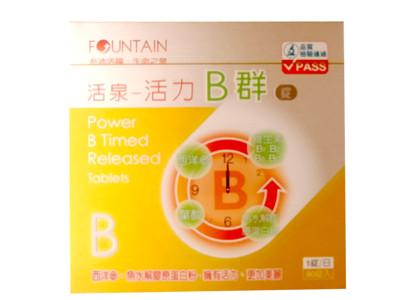 永信FOUNTAIN活泉 活力B群錠 90錠【德芳保健藥妝】 (8.8折)