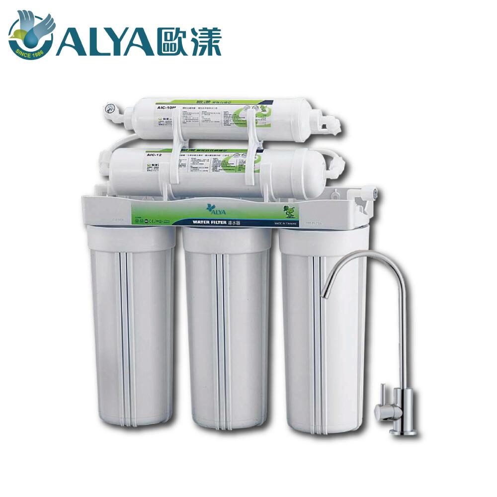 歐漾淨水櫥下型五道式淨水器 uwf-p501w 已含安裝費