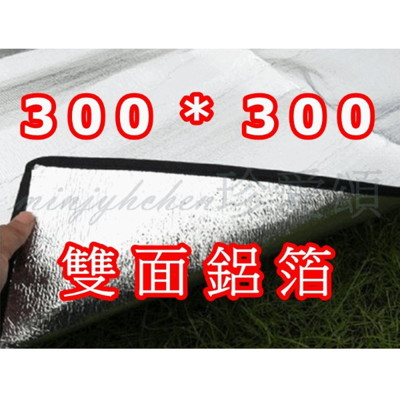 【JLS】 雙面鋁箔墊 野餐墊 300X300 (7.3折)
