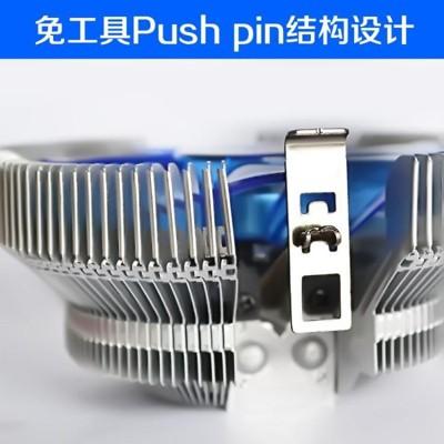 冰暴1155amd intel英特爾臺式機電腦 cpu散熱器 cpu風扇775超靜音 - 普及版含油 (7.7折)