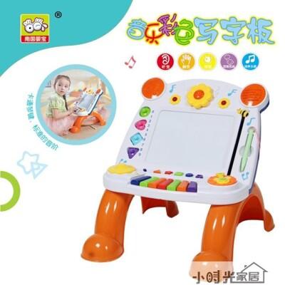 磁性彩色畫板兒童音樂電子琴寫字桌 兒童玩具 學習桌 【3C精品閣】~ - 音樂支架畫板 (5.4折)