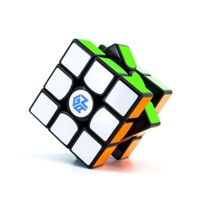 魔方 gan356air魔方三階初學者專業比賽專用套裝全套順滑速擰益智玩具 小幫手~ - air 黑 (5.9折)
