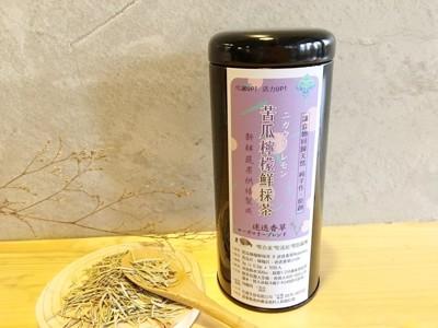 【苦瓜檸檬鮮採茶 10入 x 冷泡瓶組合】迷迭香風味 (7.8折)