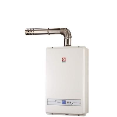 (無安裝)櫻花sh-1335l-x13公升強制排氣(與sh1335/sh-1335同款)熱水器桶 (8.2折)