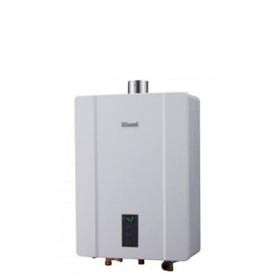 (含標準安裝)林內【RUA-C1600WF_NG1】16公升恆溫強制排氣熱水器天然氣 (8.2折)