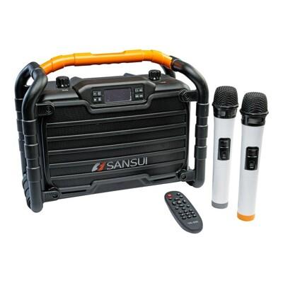 SANSUI山水【SS2-K55】重低音戶外手提行動KTV音響 (8.3折)
