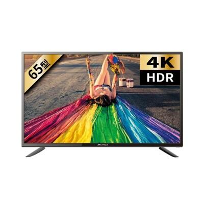 《8折》SANSUI山水【SLHD-6580】65型4K HDR安卓智慧連網液晶顯示器電視 (8.3折)