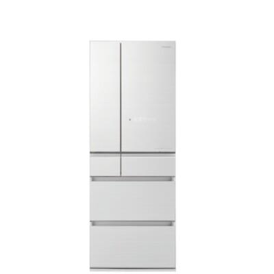 panasonic國際牌nr-f605hx-w1600公升六門變頻冰箱翡翠白 優質家電 (8.2折)