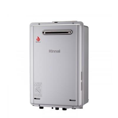 (含標準安裝)林內【REU-E2426W-TR_NG1】24公升屋外強制排氣熱水器 天然氣 (8.2折)