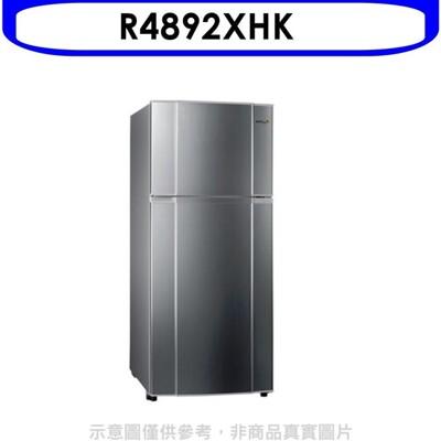 東元【R4892XHK】480公升雙門變頻冰箱雅鈦銀 (8.2折)