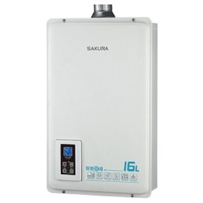 (全省安裝)櫻花16公升(與DH1670A/DH-1670A同款)熱水器天然氣DH-1670AN (7.9折)