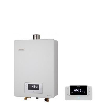 (含標準安裝)林內【RUA-C1630WF_LPG】16公升數位恆溫強制排氣贈BC-30遙控 優質家 (8.2折)