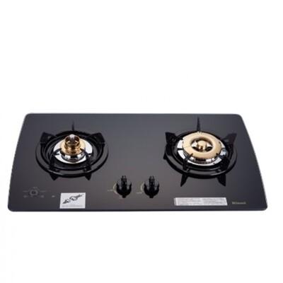 (含標準安裝)林內【RB-2GMB_LPG】美食家雙面檯面爐黑色與白色(與RB-2GMB同款)瓦斯爐 (9.1折)