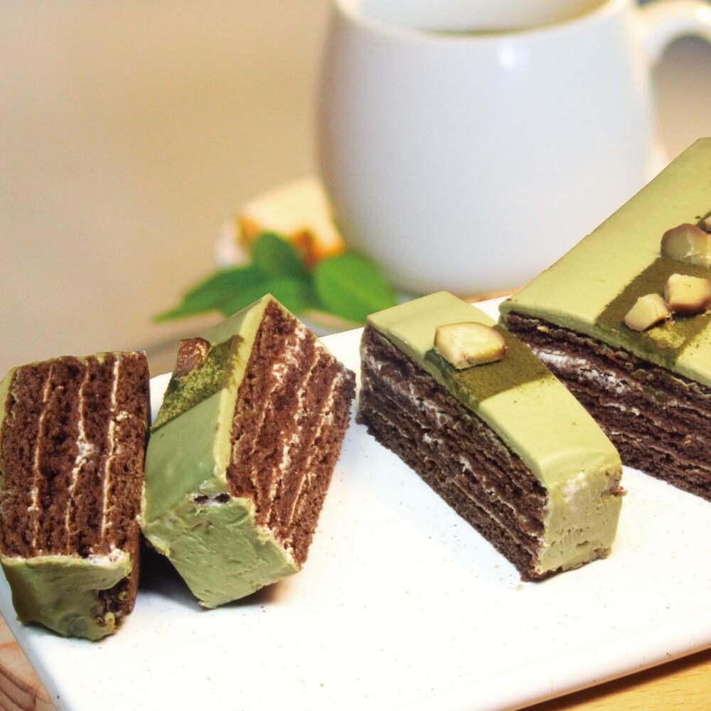 捷克媽媽手工蜂蜜蛋糕抹茶栗子蜂蜜千層蛋糕