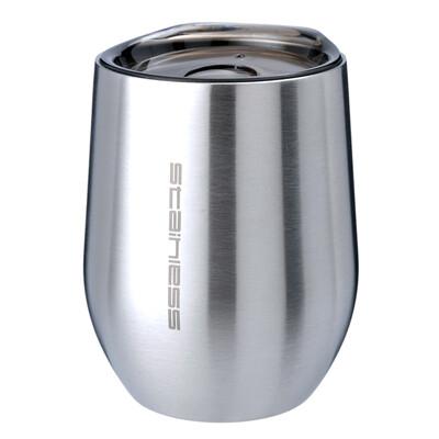 魔力坊嚴選 sl系列原素304不鏽鋼雙層真空保溫杯保冰杯附蓋330ml (5.1折)