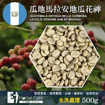 E7HomeCafe一起烘咖啡 瓜地馬拉安地瓜花神水洗處理咖啡生豆500克 (7.1折)
