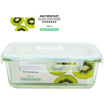 【賣客王國】SYG台玻耐熱長方形 玻璃保鮮盒900ml/餐盒/便當盒 (4.3折)