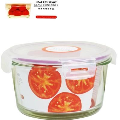 【賣客王國】SYG台玻耐熱圓形 玻璃保鮮盒750ml/餐盒/便當盒 (4.1折)