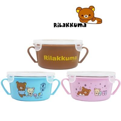 【賣客王國】拉拉熊 幼兒 隔熱碗450ml-隨機出貨/餐盒/餐碗/學習碗 (5.8折)