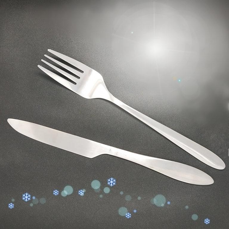 lohogo不鏽鋼西餐便攜式旅行刀叉組/露營烤肉 刀子+叉子 環保旅行套裝