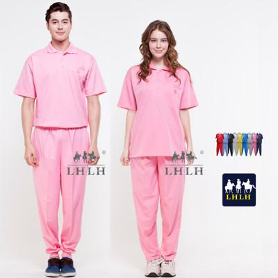 粉色 粉紅色 看護服 健檢服裝 運動套裝 短袖 女 男 Polo衫 (2.5折)