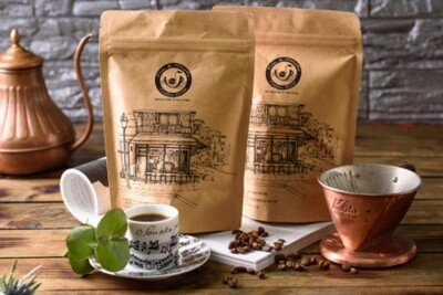 【豆趣留聲】印尼黃金曼特寧咖啡豆(半磅) (9.6折)
