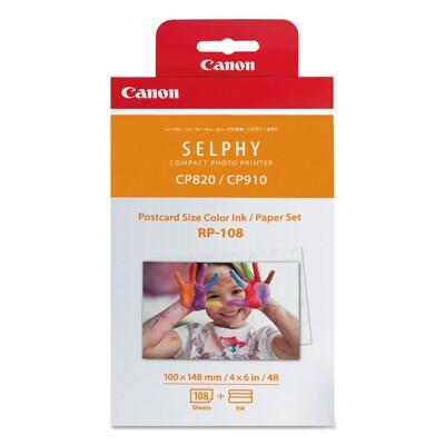 CANON RP-108 4X6吋相片紙 108張 適用CP1200/CP1300 含墨盒 現貨 (9.2折)