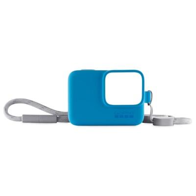 GoPro 原廠專用矽膠護套(保護套)+繫繩 黑/白/藍/限量黃VR46聯名款 Hero 5 6 7 (8折)