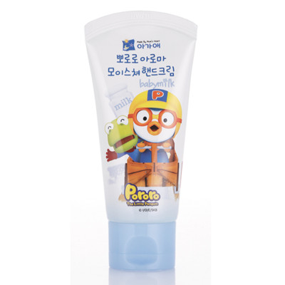 韓國Pororo快樂小企鵝 兒童護手霜50g(牛奶) (2.9折)