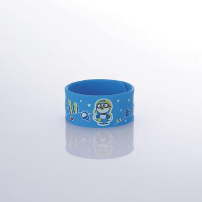 韓國Pororo快樂小企鵝防蚊手環-藍 (2.7折)
