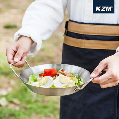 KZM-304不鏽鋼雙耳圓盤 (10折)