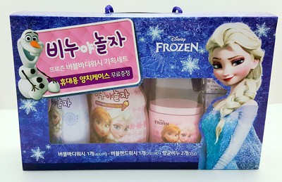 Disney Frozen 迪士尼冰雪奇緣 兒童沐浴禮盒五件組 (4.2折)